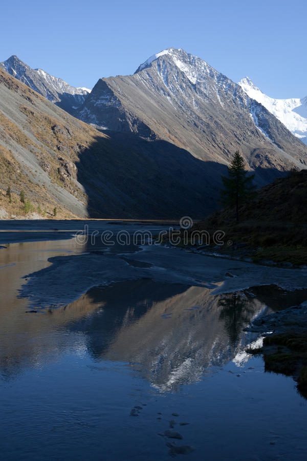 Download Altai mountains and lake stock image. Image of mountains - 16283933
