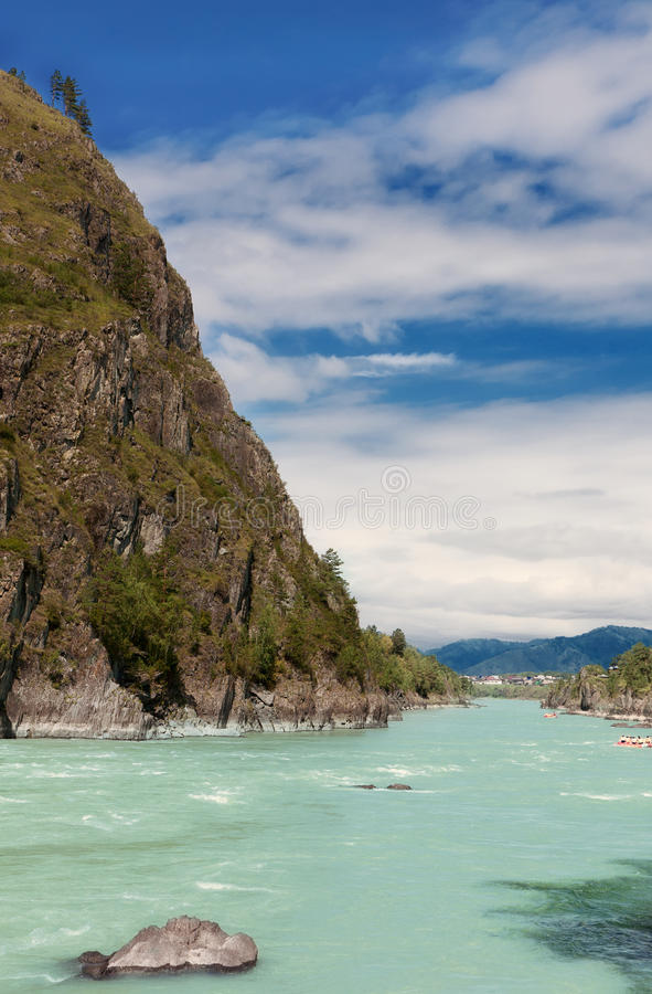 Altai Mountains,Russia royalty free stock photography