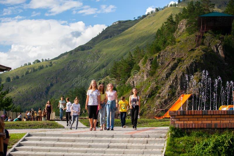 "Altai, Rusland †""08 Augustus, 2018: royalty-vrije stock foto's"