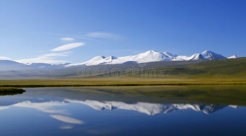 Altai Tavan Bogd cinco santos fotografía de archivo libre de regalías