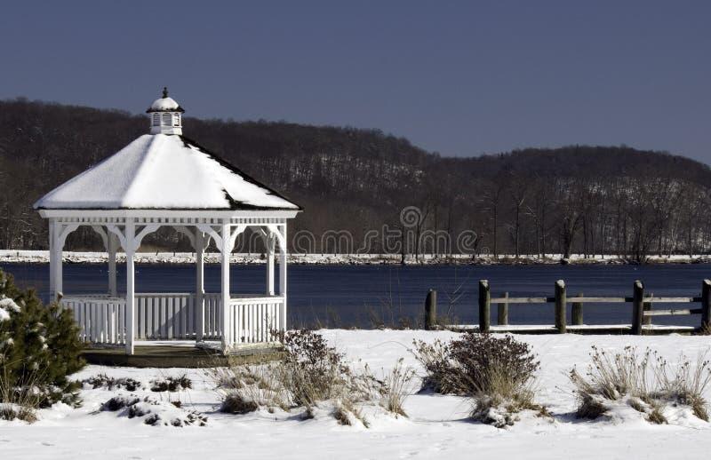 altanka objętych śnieg zdjęcia stock