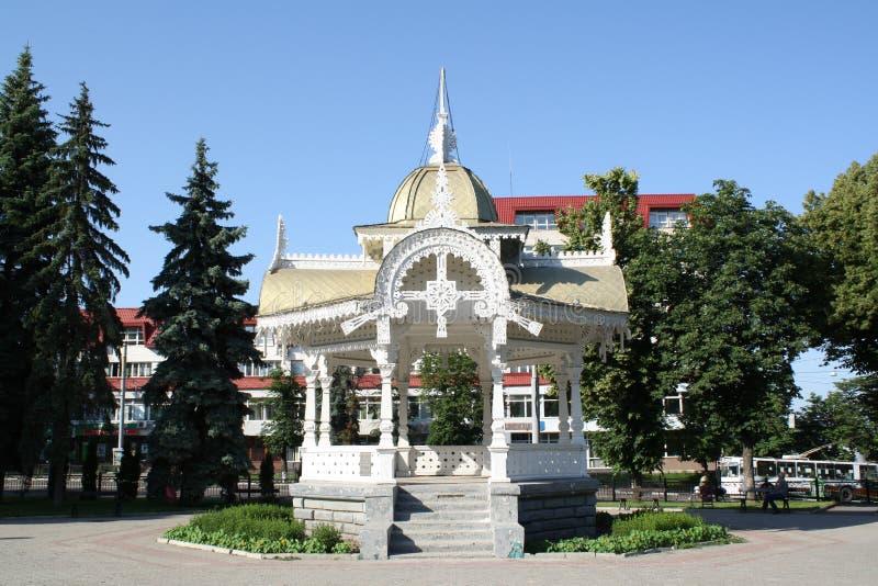 Altanka - a symbol of  the city Sumy in Ukraine. Summer stock photo