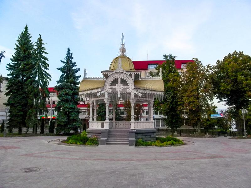 Altanka - um monumento histórico, um símbolo da cidade de Sumy imagens de stock royalty free