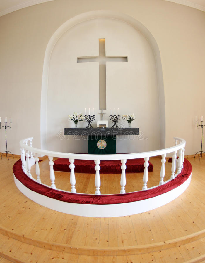 Altar imagem de stock
