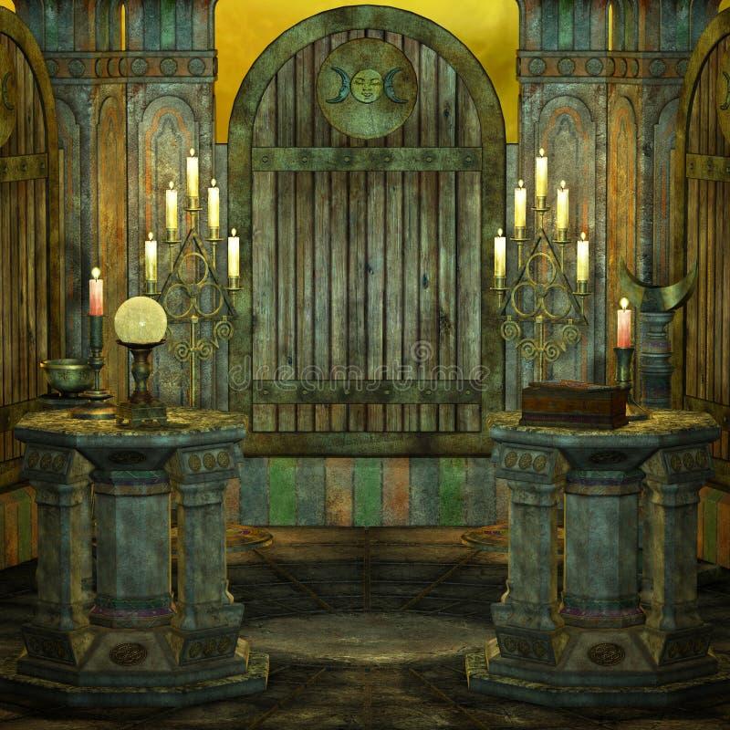 Altar stock illustration