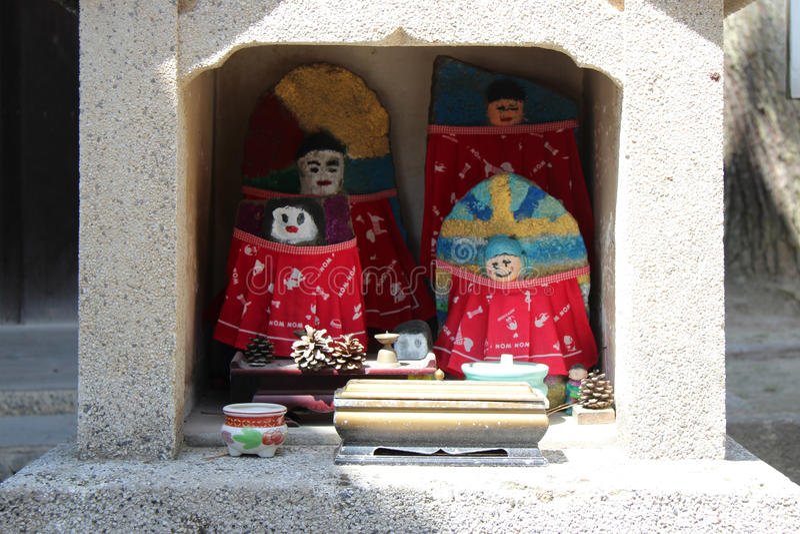 Altar - Amano-Hashidate - Japón imágenes de archivo libres de regalías