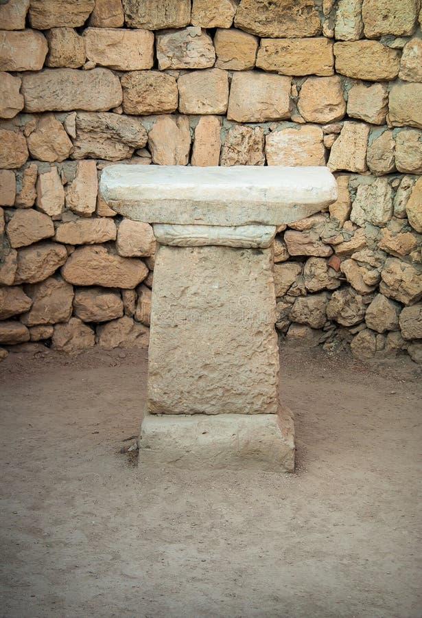 Altar antigo foto de stock