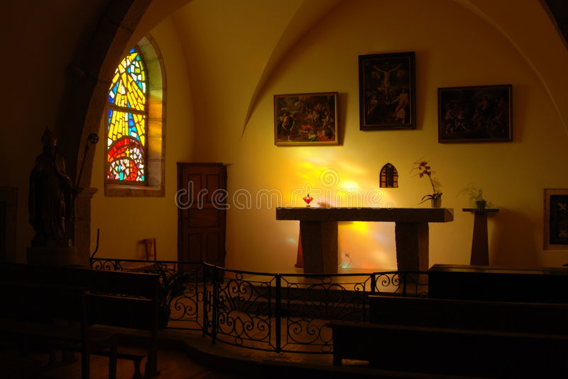 Download Altar in a church stock image. Image of church, glass - 7084957