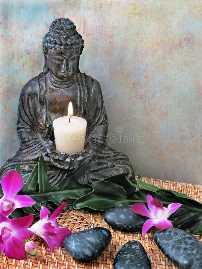 Altar de Buddha foto de stock royalty free
