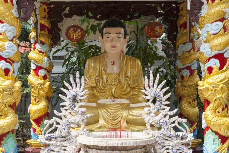 Altar de Budhist fotografia de stock royalty free