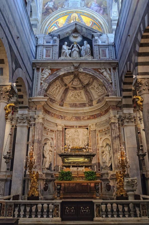 Altar de Saint Rainerius - Pisa imagem de stock royalty free