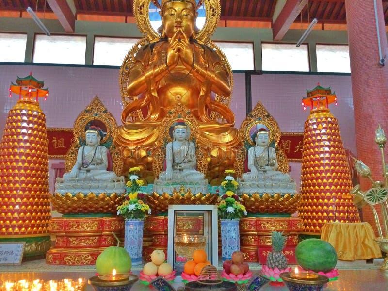 Altar del templo fotografía de archivo libre de regalías