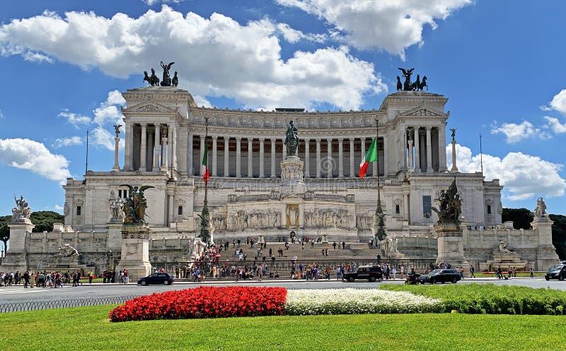 Altar della patria, Roma immagini stock libere da diritti