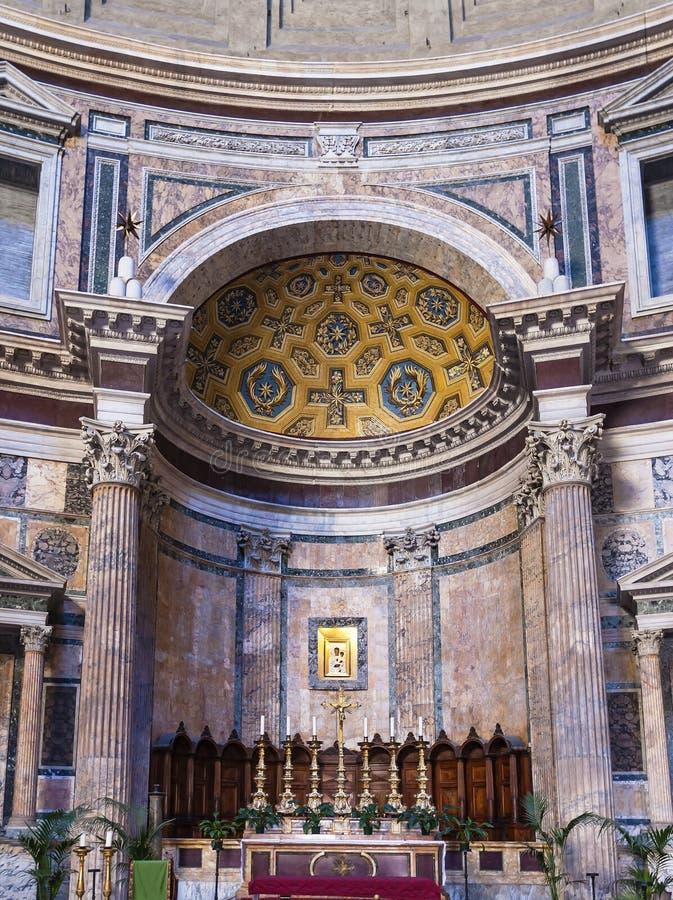 Altar des Pantheons stockbild