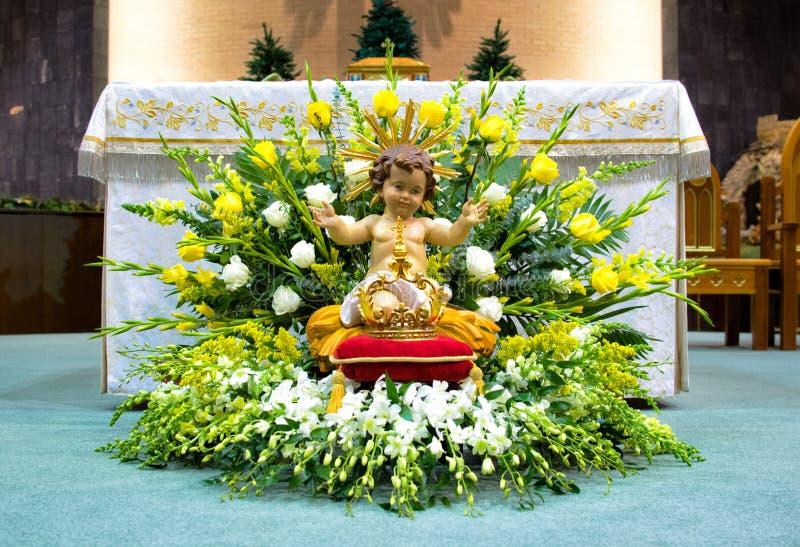 Altar en el banquete de la epifanía del señor foto de archivo libre de regalías