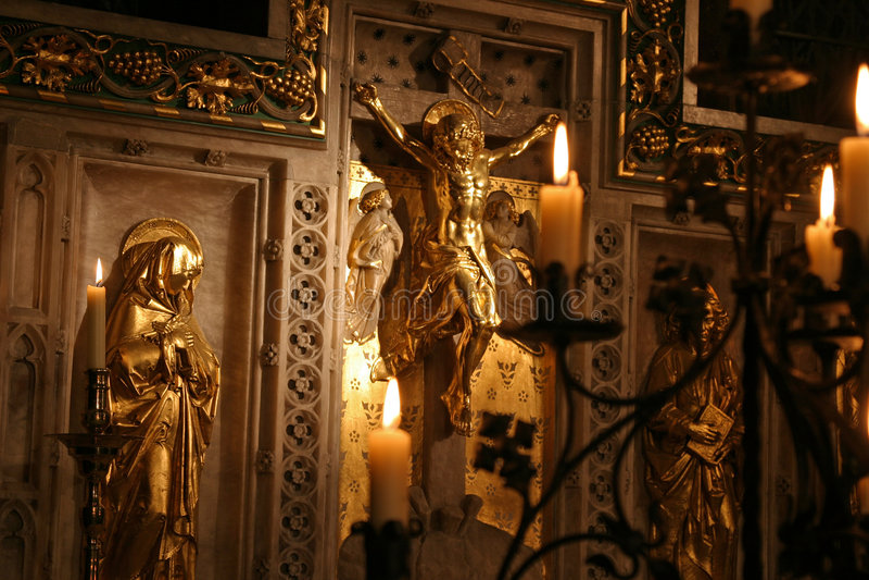 altar kawałek obrazy royalty free