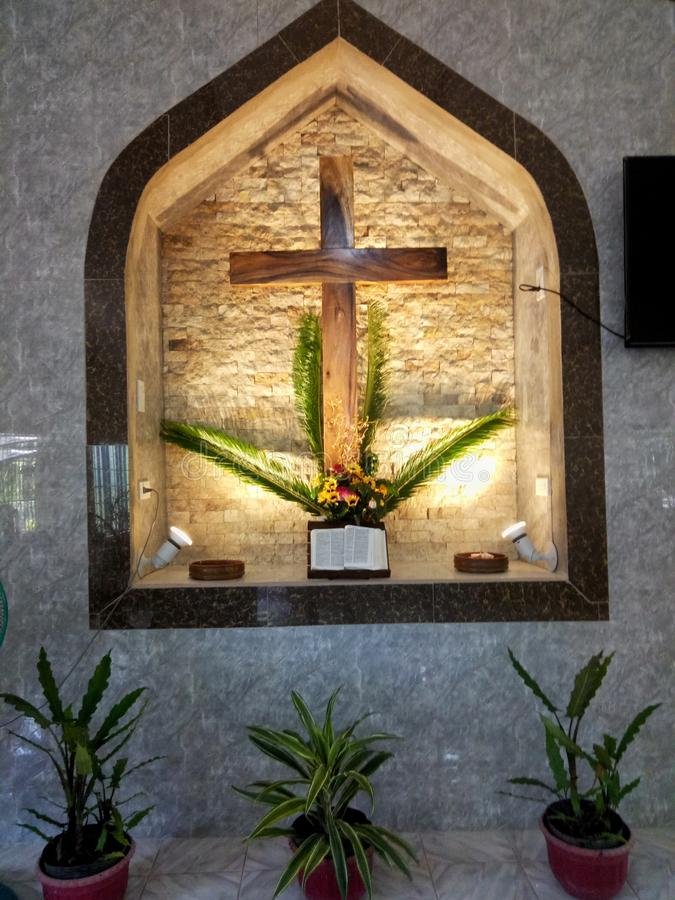Altar, Kirche, Anbetung, Christ lizenzfreie stockfotos