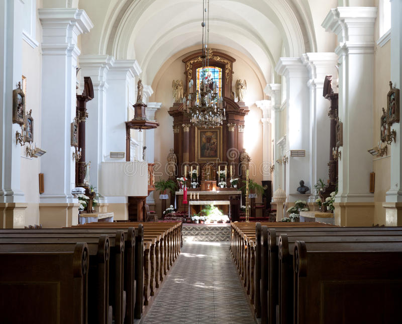 Download The Altar Of The Old Church Stock Photo - Image: 19671018