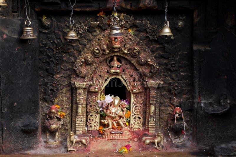 Altar sagrado Hindu fotos de stock
