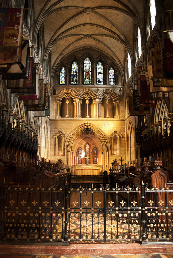 Download Altar Of St. Patrick's Cathedral Stock Photo - Image: 33327650