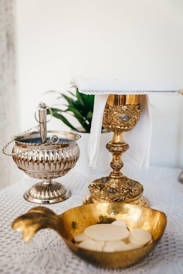 Altar und Liturgie stockfotos