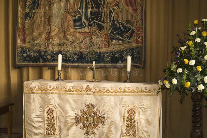 Altare royaltyfria bilder