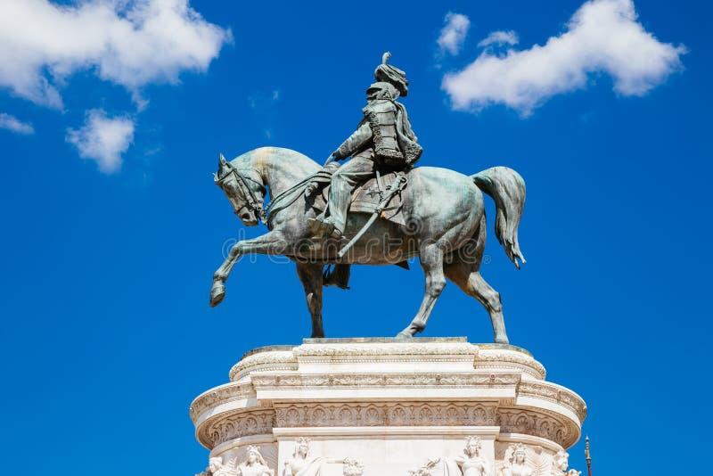 Altare av den fäderneslandAltare dellaen Patria Nationell monument till Victor Emmanuel II i Italien arkivbilder