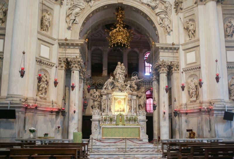 Altare av Santa Maria della Salute royaltyfri foto