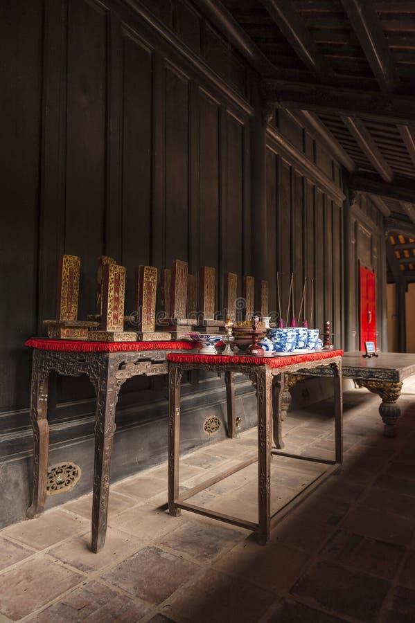 Altare del Queens di re Minh Mang fotografie stock