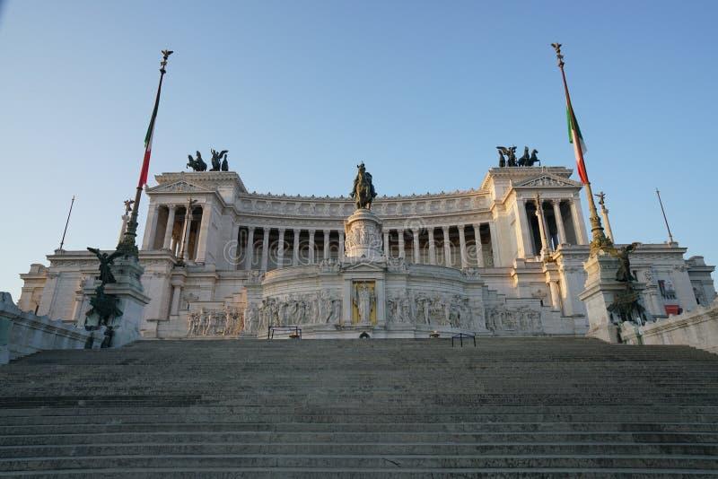 Altare della Patria lub ołtarz Fatherland obraz stock