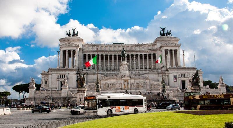 Altare Della Patria/altare della patria, monumento nazionale a Victor Emmanuel II, Roma Italia immagine stock