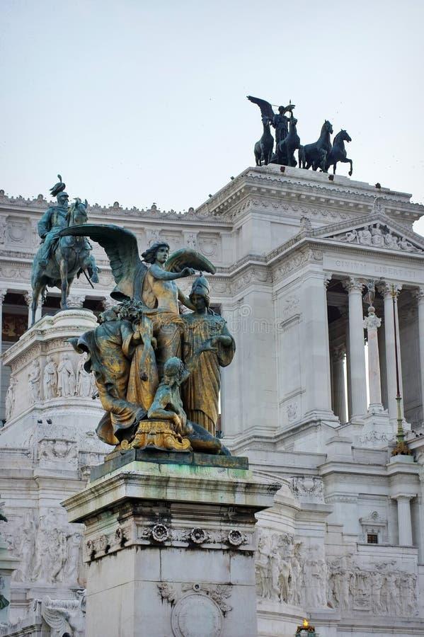 Altare della Patria (ołtarz Fatherland) zdjęcie stock