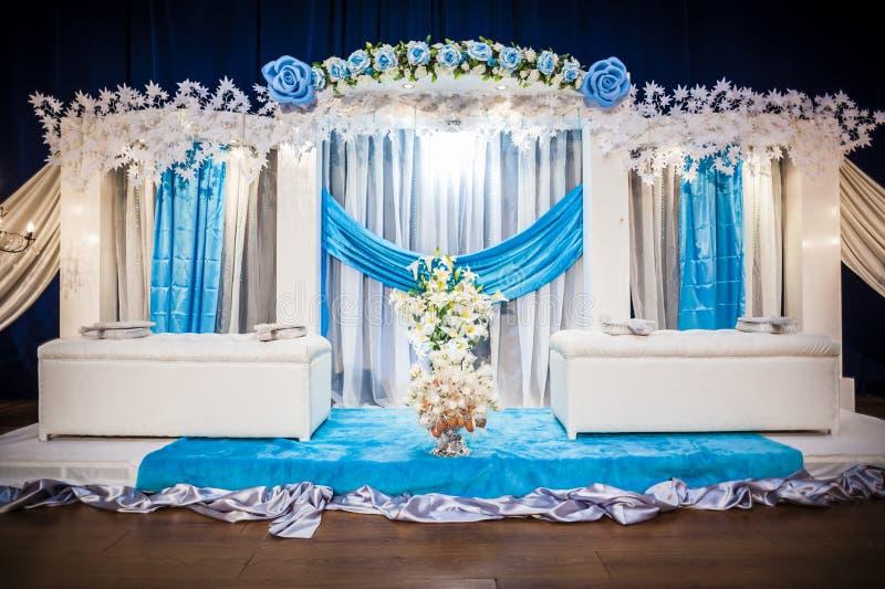 Altare di nozze immagini stock