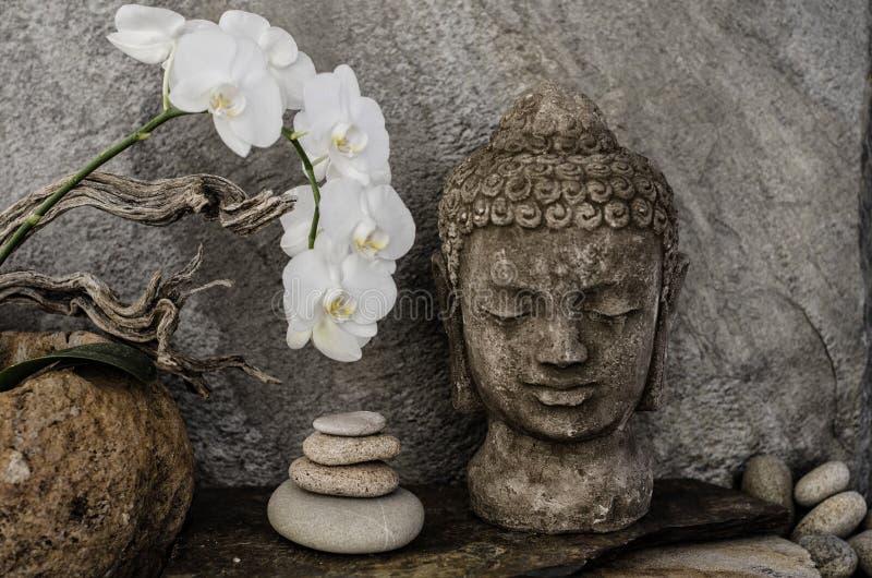 Altare sacro della terra di Buddha fotografia stock libera da diritti