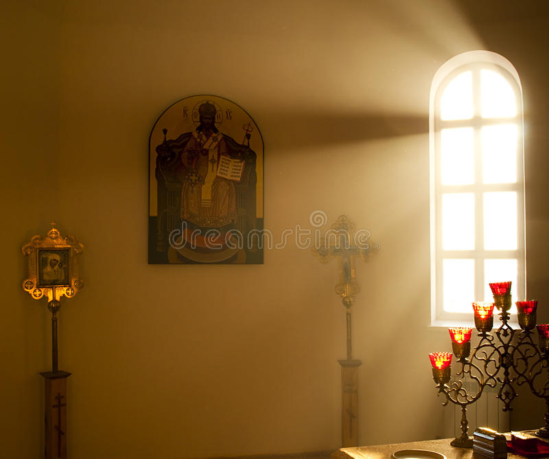 Altaret royaltyfri fotografi