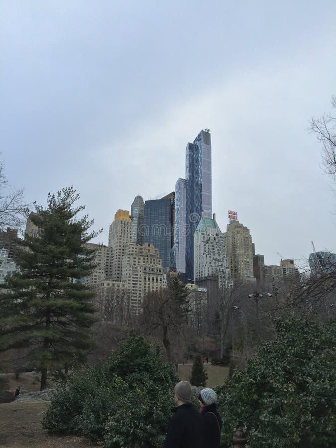 Altas canalizaciones verticales de Nueva York fotografía de archivo libre de regalías