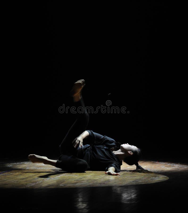 Altas luz y línea-should've sald, amo danza usted-moderna fotografía de archivo libre de regalías