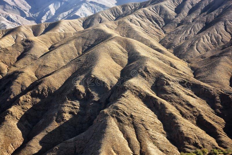 Altas montañas del atlas. imagenes de archivo