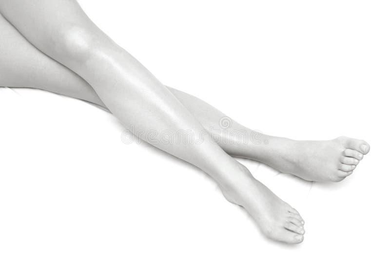 Altas piernas dominantes foto de archivo