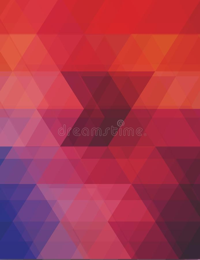 Altas resoluções poligonais do teste padrão do vetor fotografia de stock royalty free