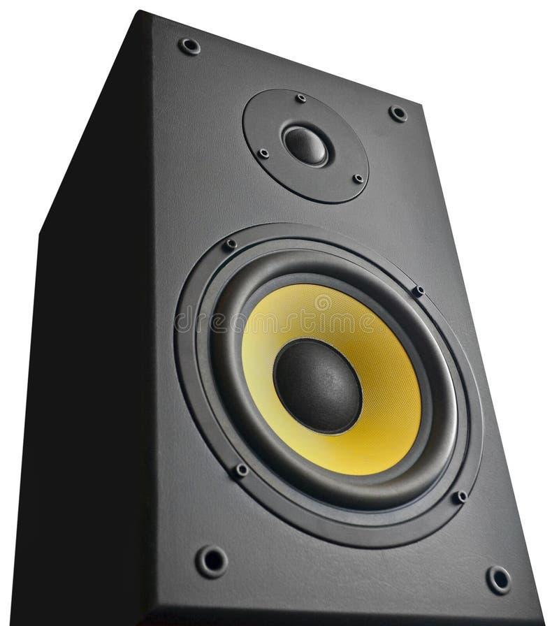 Altavoz audio imagen de archivo libre de regalías