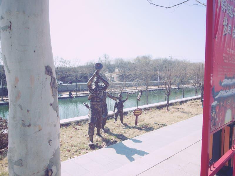 Altavoz chino imagen de archivo libre de regalías