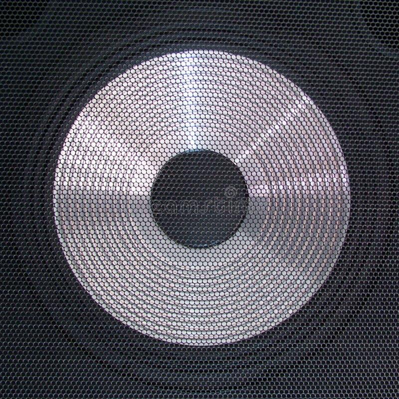 Altavoz para bajas audiofrecuencias imagenes de archivo