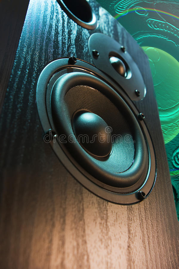 Altavoz ruidoso foto de archivo libre de regalías