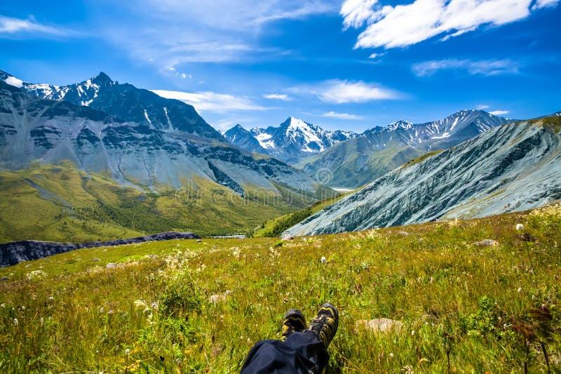 Altay Altai fotografía de archivo libre de regalías