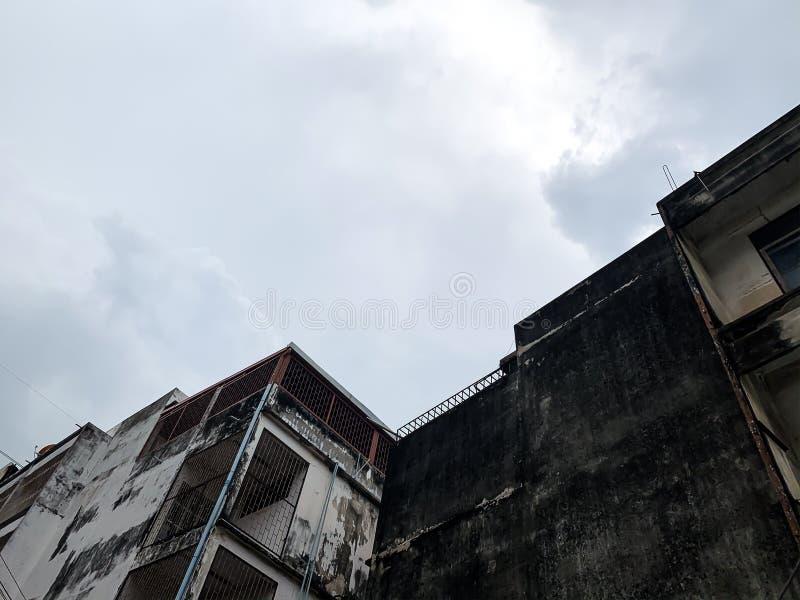 Altbaustruktur oder Tapeten stockfoto