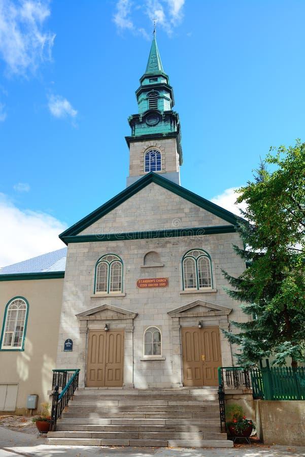 Altbauten in Québec-Stadt stockfotografie