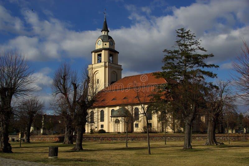 Altdoebern Kościół 05 zdjęcia royalty free