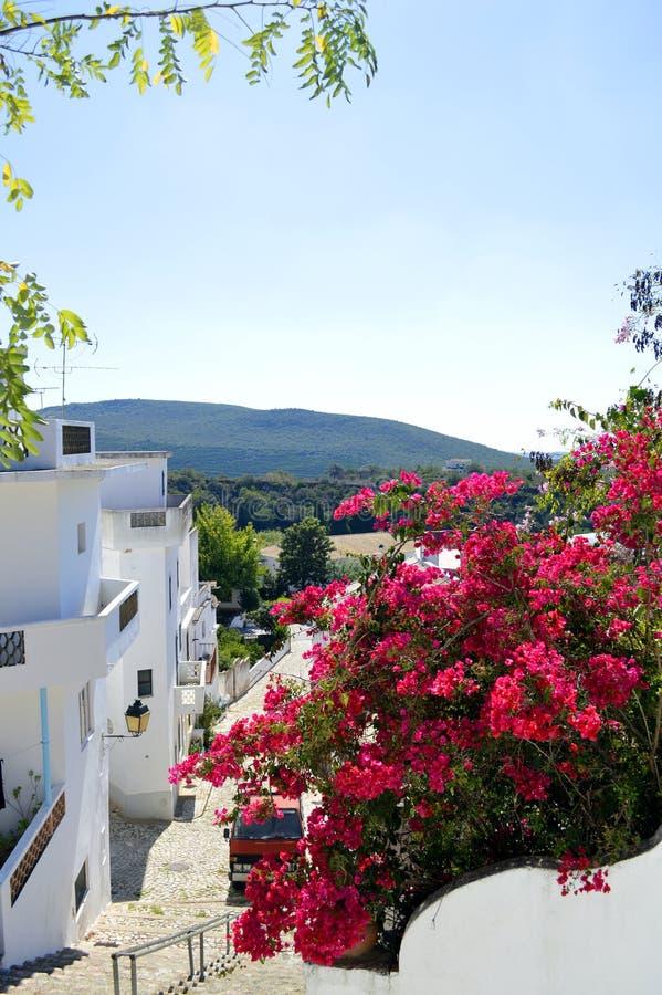 Alte村庄在葡萄牙 库存图片