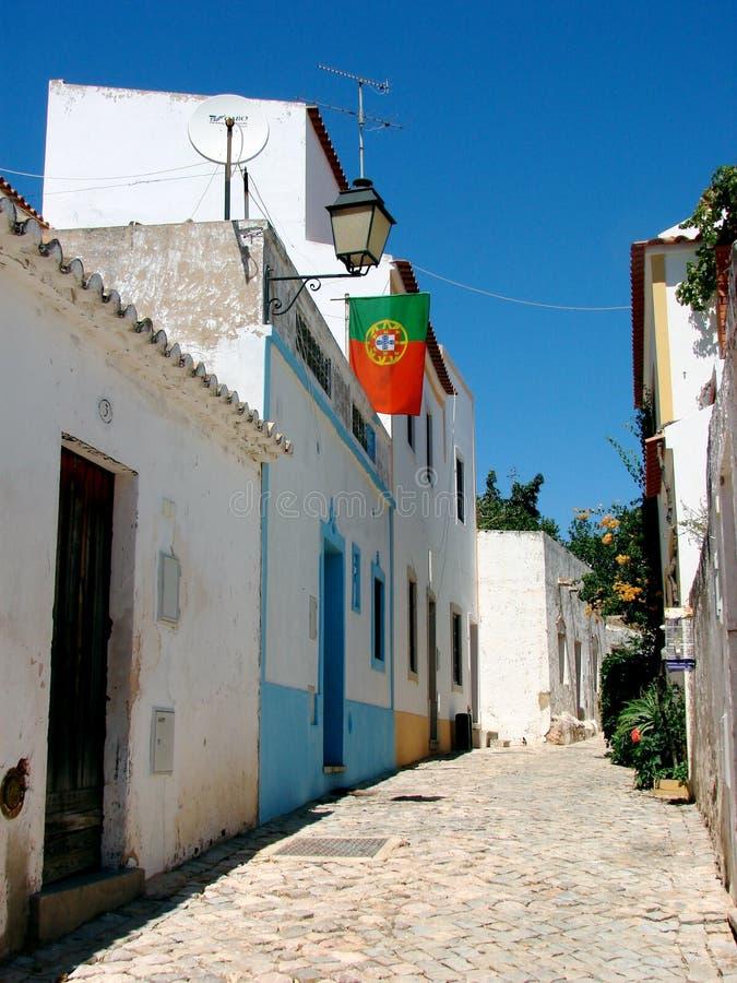 alte葡萄牙街道村庄 免版税库存图片